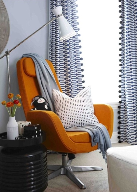Room for Style: Decorating with Orange