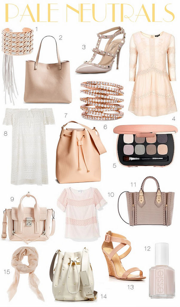 Obsession: Pale Neutrals
