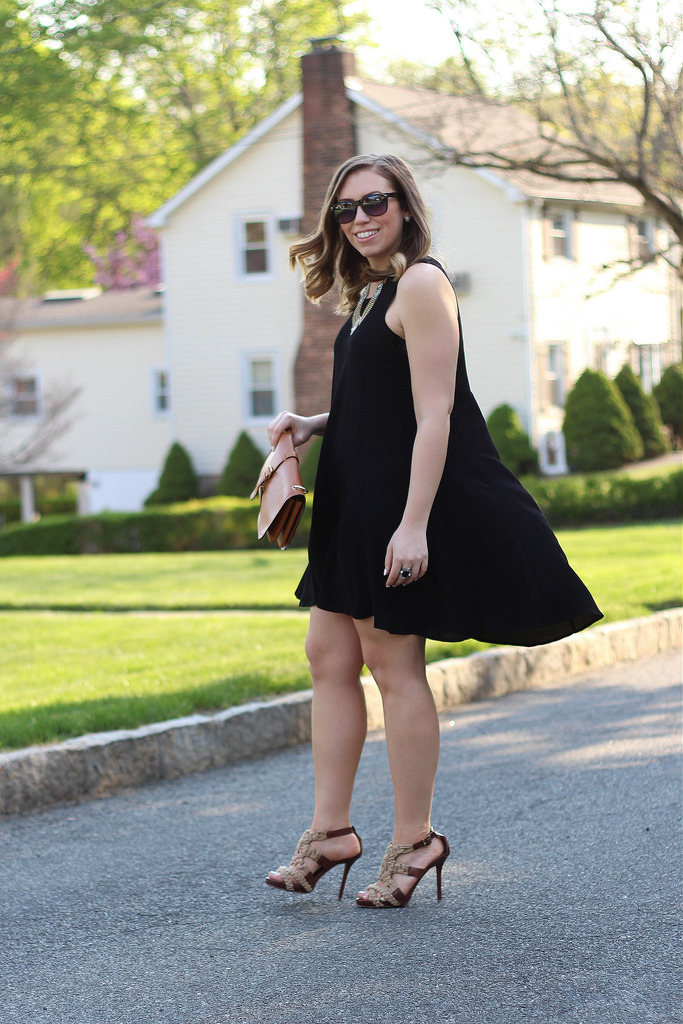 Little Black Trapeze Dress