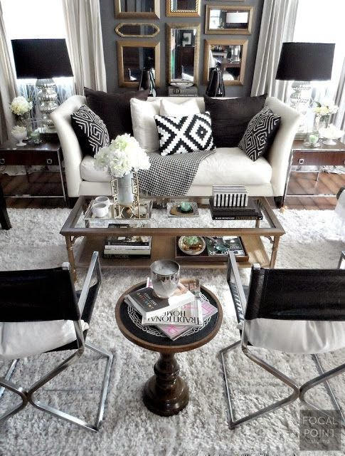 Room for Style: Decorating | Black & White
