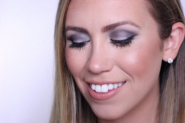 Makeup Monday: Charcoal Metallic Eye