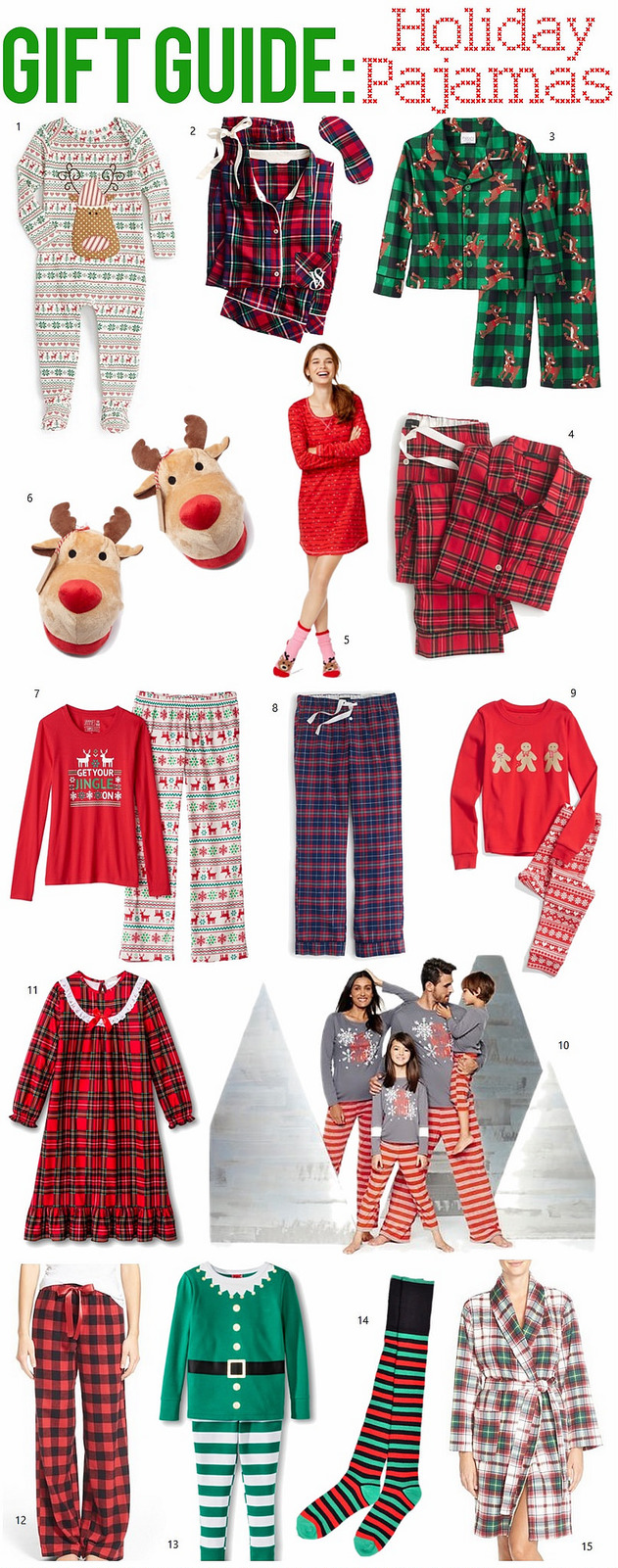 Gift Guide: Holiday Pajamas