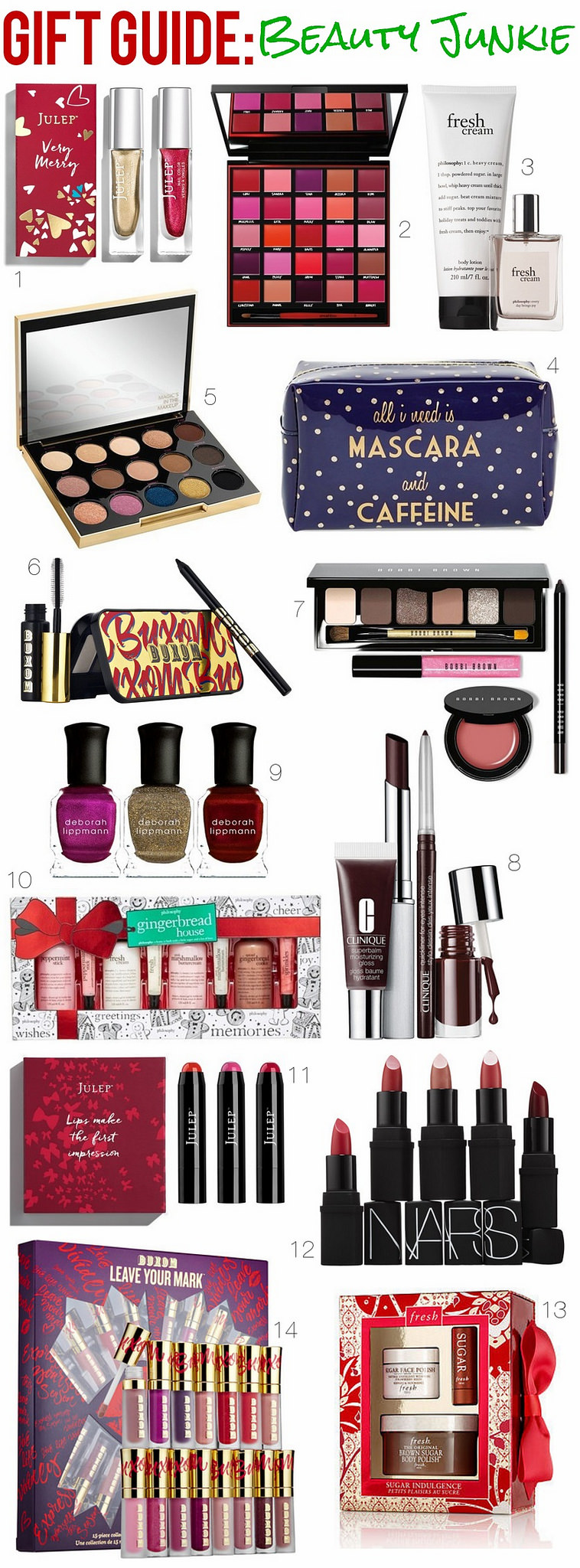 Gift Guide: Beauty Junkie