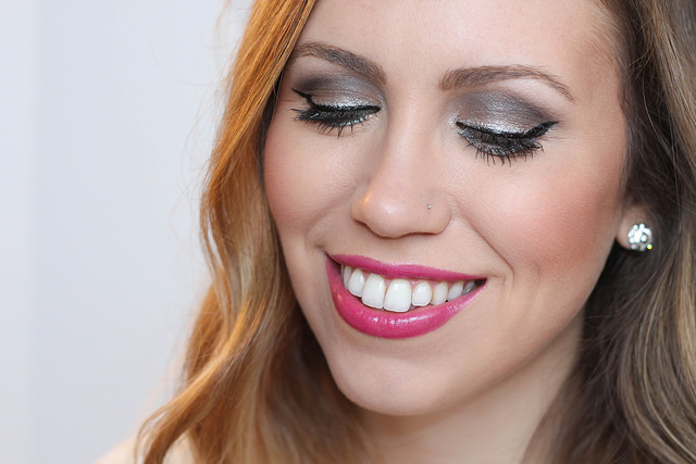 Makeup Monday: New Year's Eve Glitter Eye