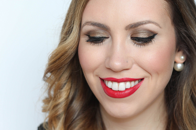 Makeup Monday: Cherry Red Lipstick