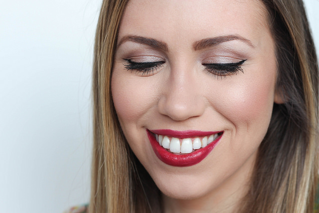 Makeup Monday: Subtle Ombré Red Lip