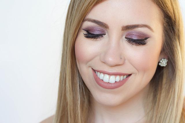 Makeup Monday: Purple Metallic Eye