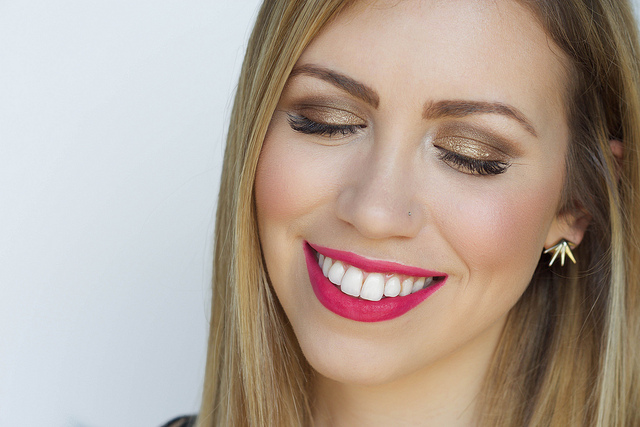 Makeup Monday: Matte Hot Pink Liquid Lip
