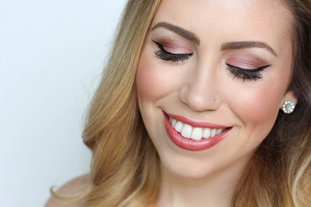 Makeup Monday: Rose Gold Makeup