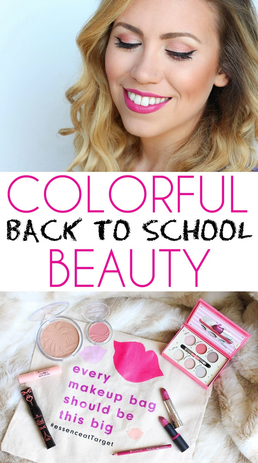 Makeup Monday: Colorful Back to School Beauty