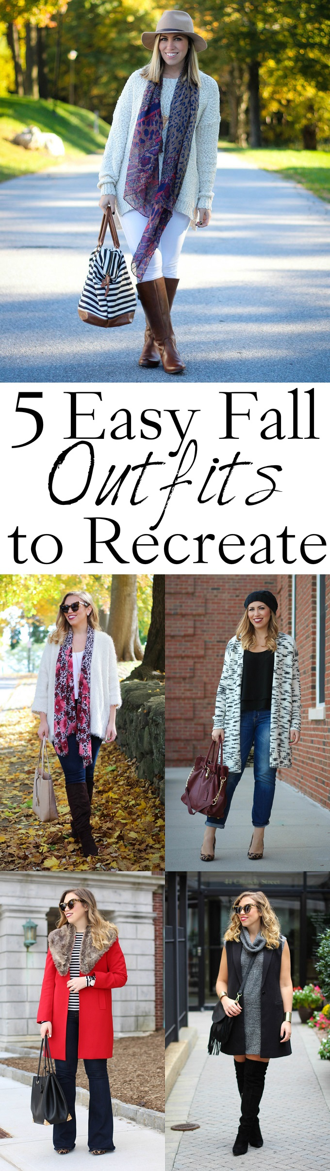5 Easy Fall Outfits to Recreate
