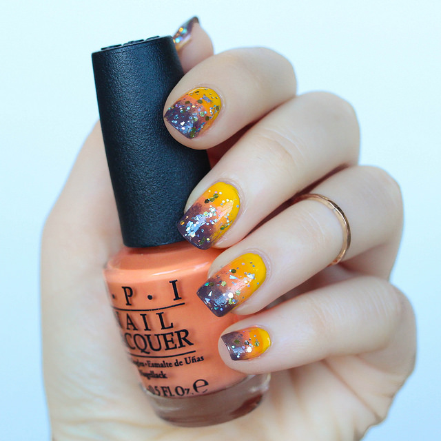 Ombre Fall Manicure