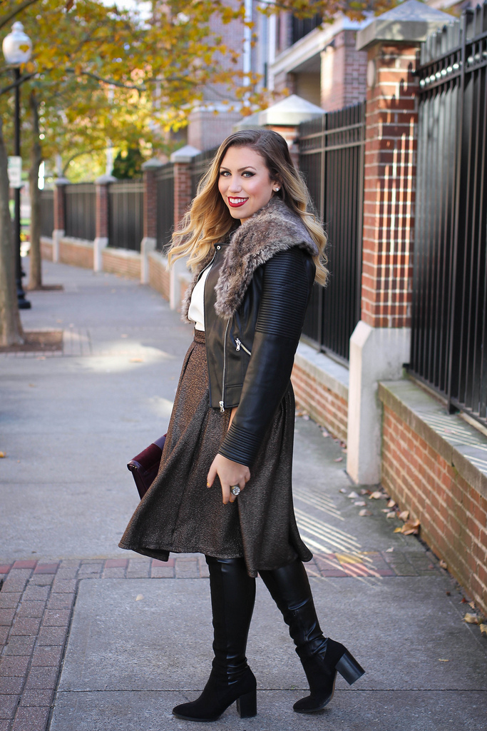 2 Ways to Wear Over the Knee Boots
