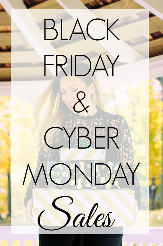 2016 Black Friday & Cyber Monday Sales