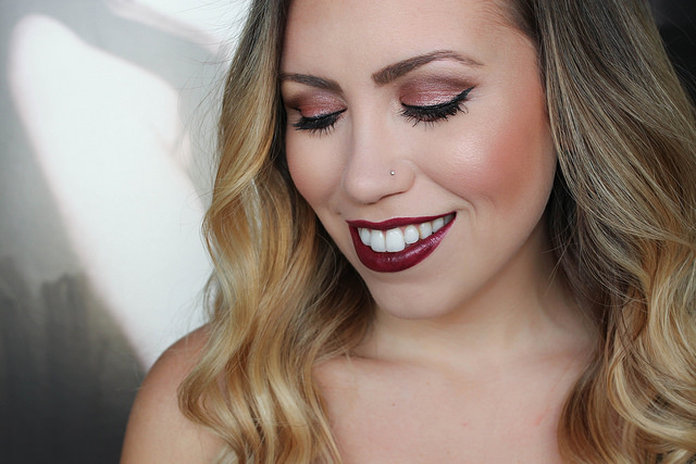 Makeup Monday: Black Cherry Makeup