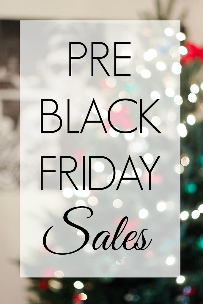 Pre-Black Friday Sales