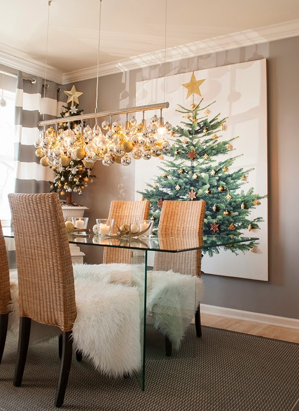 How to Decorate for Christmas in Small Spaces - Living ...