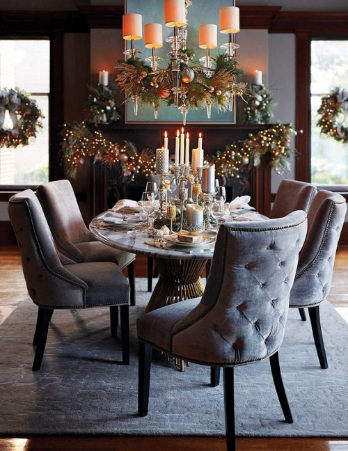 Simple holiday table settings living after midnite - Simple christmas table settings ...