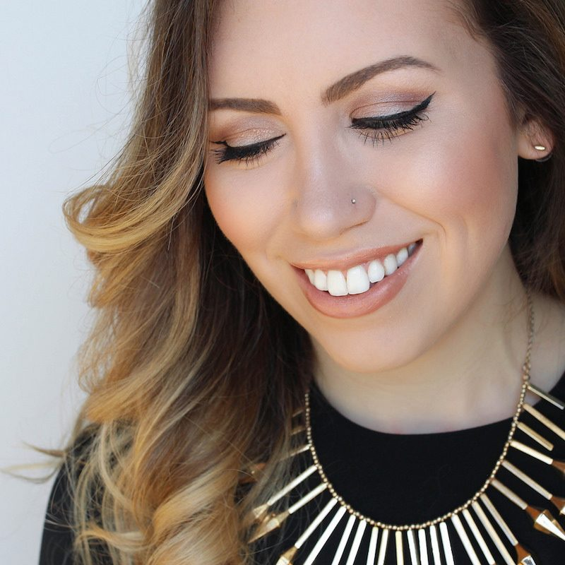 Simple Glam Neutral Makeup Tutorial with Clarins Instant Beauty Perfectors