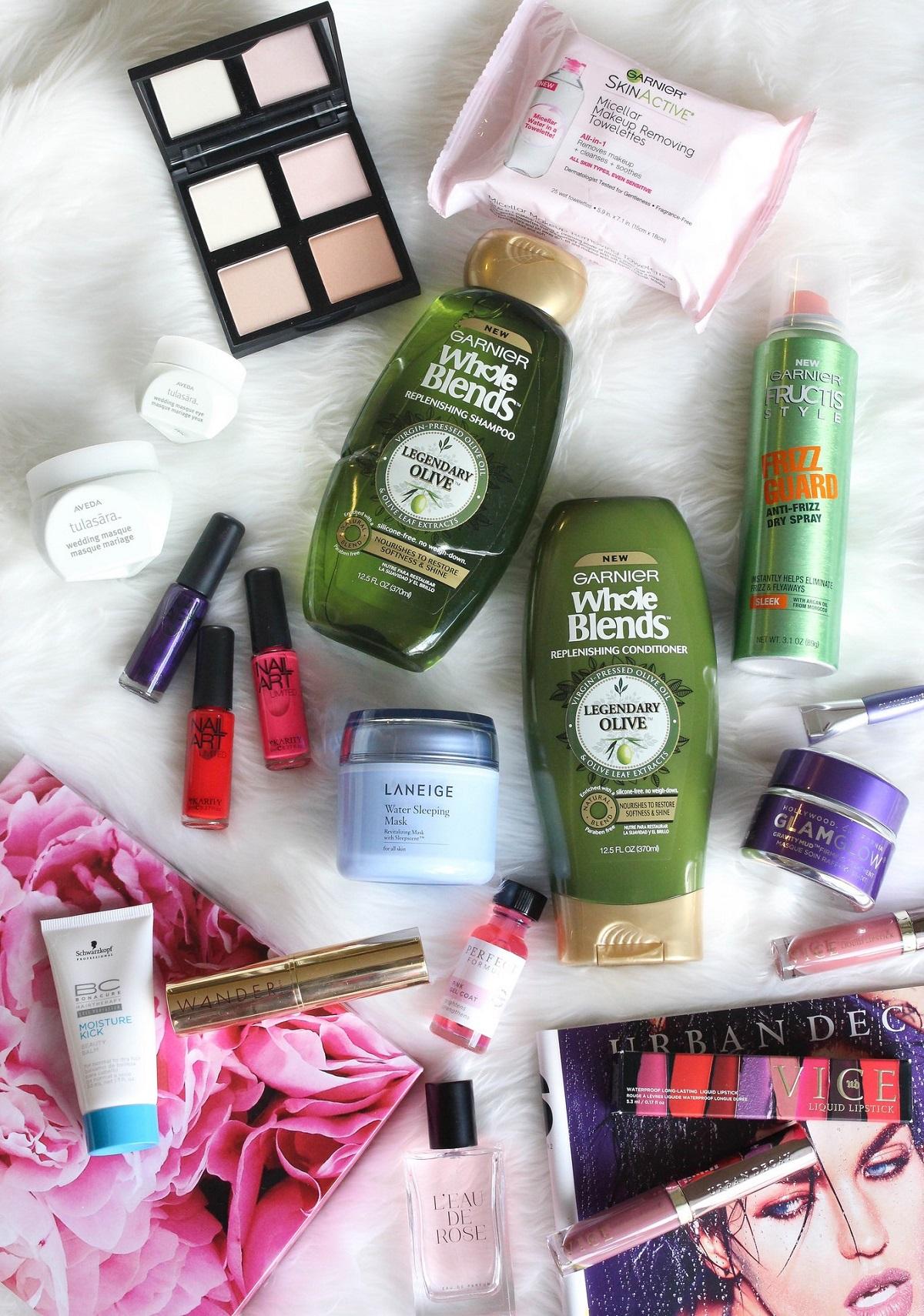 My February Beauty Essentials