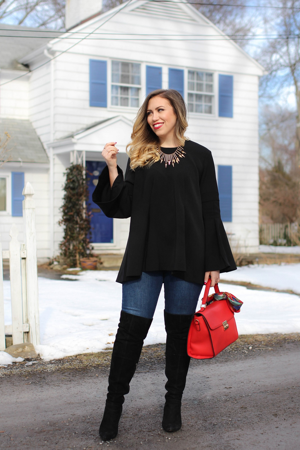 Why You Need a Bell Sleeve Top in 2017