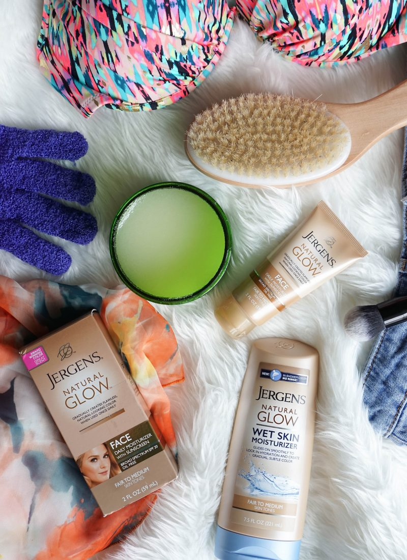 How to Get the Most Natural Looking Fake Tan with Jergens | Jergens Natural Glow