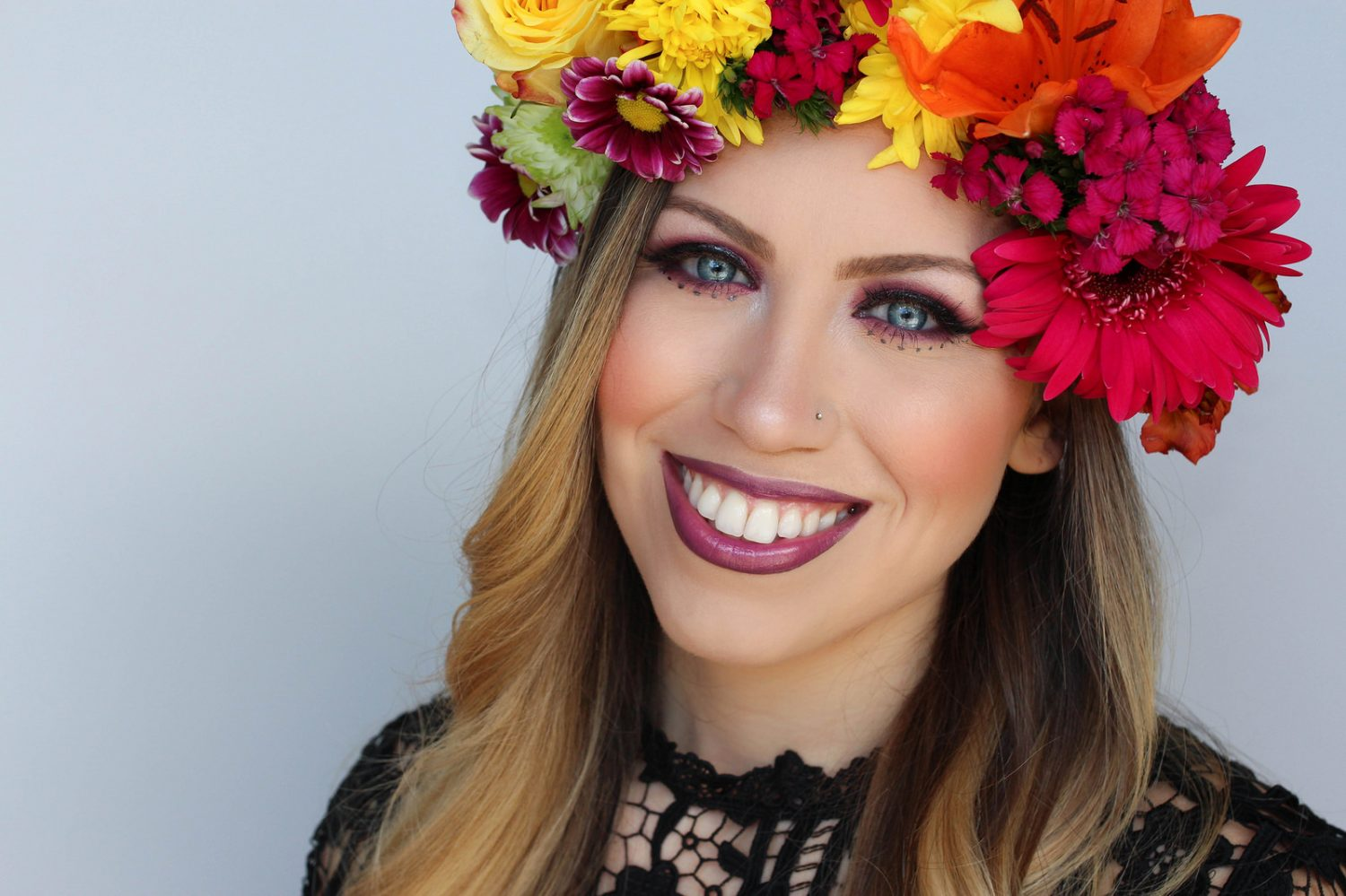 Colorful Festival Style Makeup