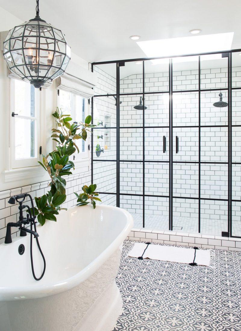 The 15 Best Tiled Bathrooms on Pinterest