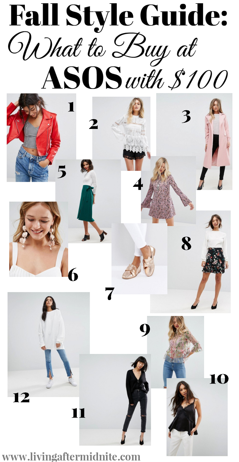 Fall Style Guide: What to Buy at ASOS with $100