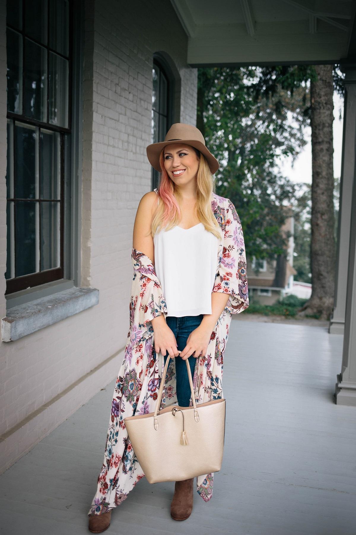 The Ultimate Warm Weather Fall Accessory: The Kimono