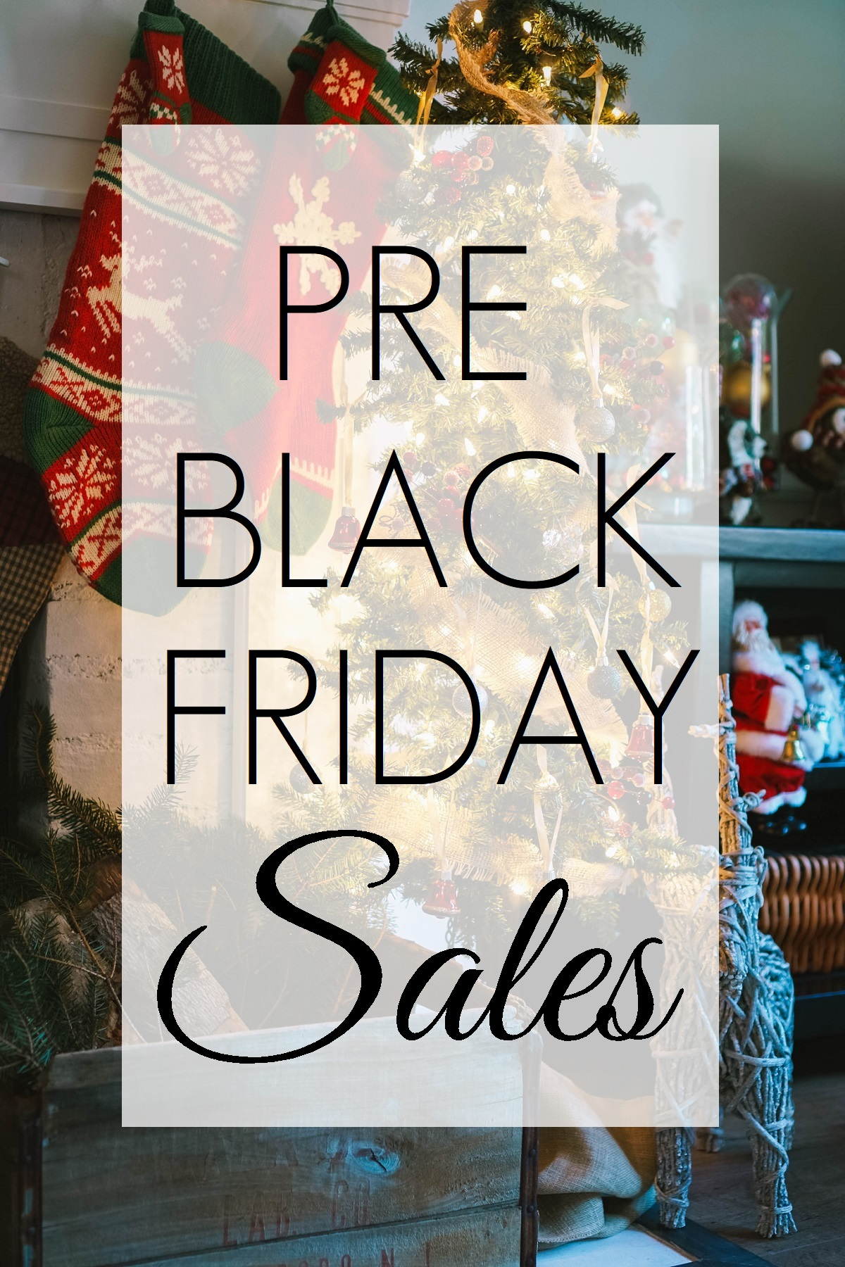 The BEST Pre-Black Friday Sales of 2017