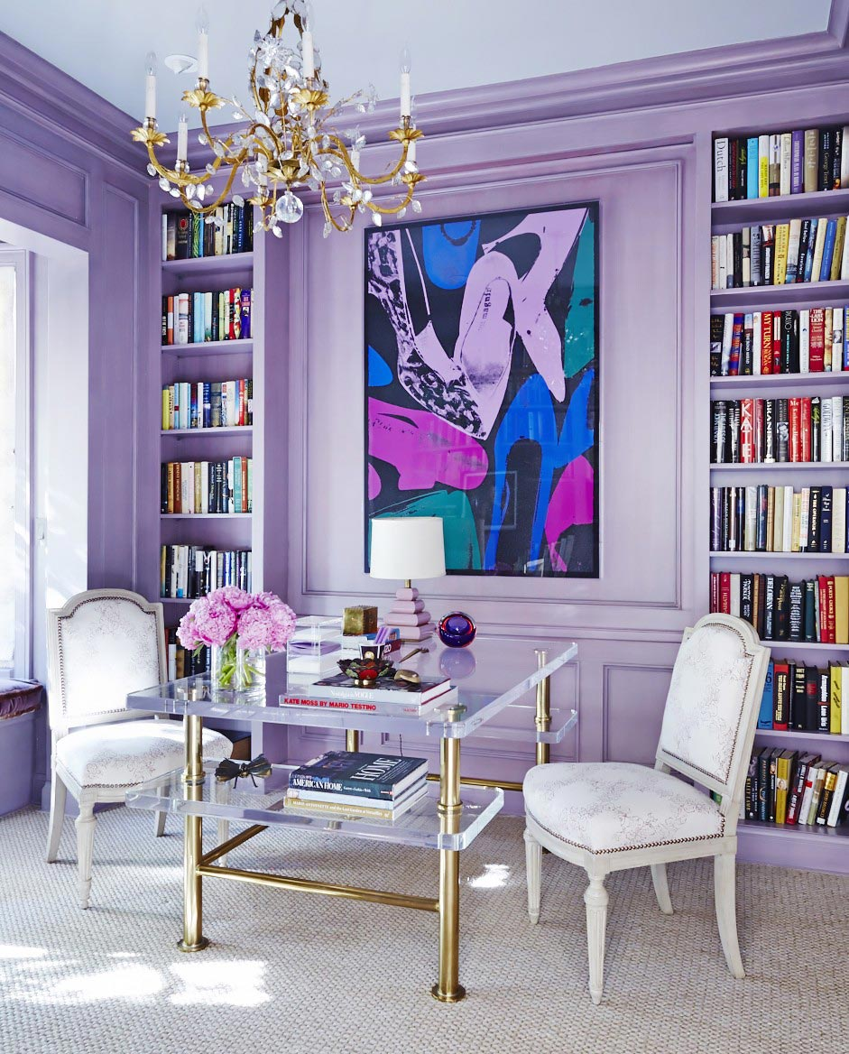 How to Decorate with the Pantone 2018 Color of the Year, Ultra Violet