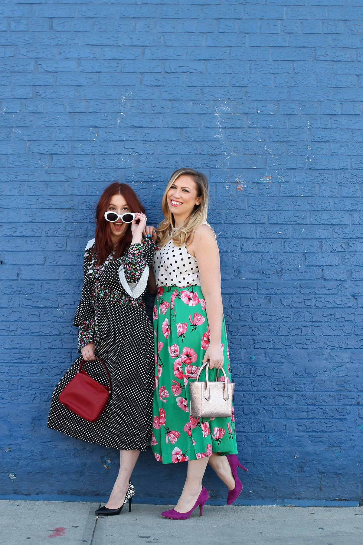 Pattern Mixing: How to Wear Polka Dots and Floral Print