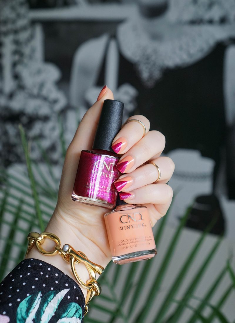 Step-by-Step Tropical Long Wear Manicure with CND™ VINYLUX™