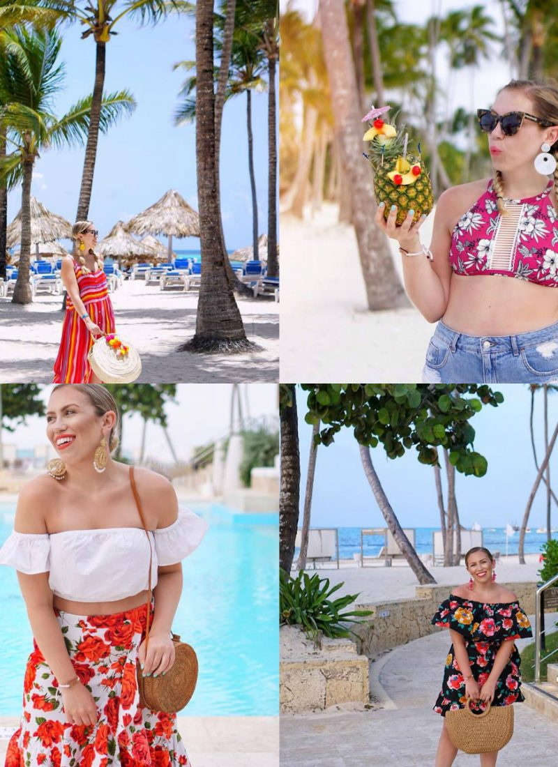 Vacation Outfit Ideas Inspiration Fashion Style Punta Cana July 2018 Round Up