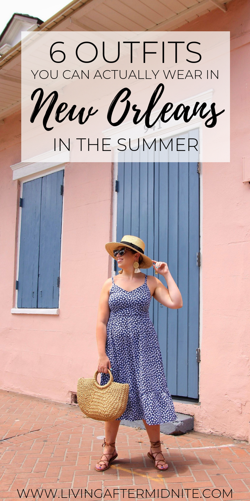 6 Outfits You Can Actually Wear in New Orleans in the Summer