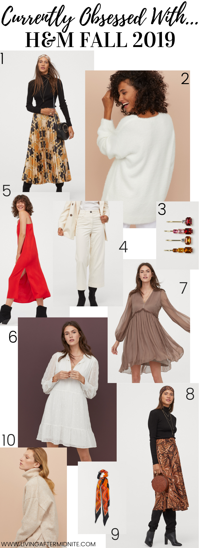 Currently Obsessed With: H&M Fall 2019 New Arrivals