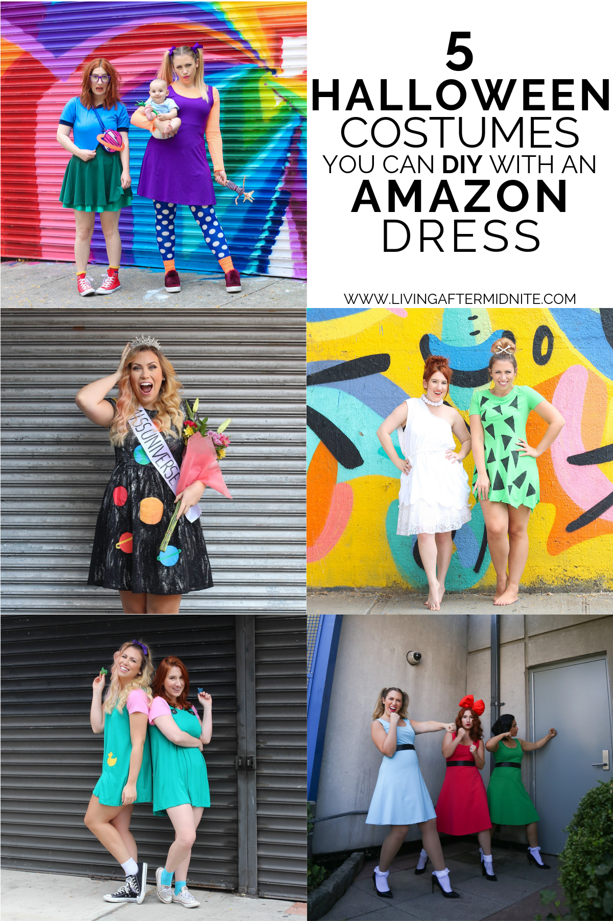 5 Costumes You Can DIY with an Amazon Dress