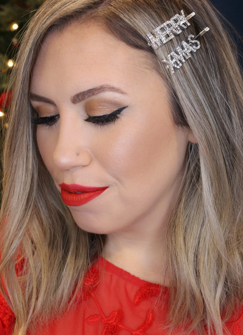 Holiday Makeup Monday Tutorial: Matte Red Lips