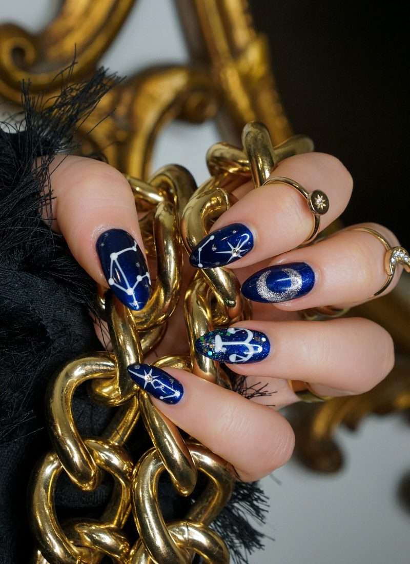 Manicure of the Month: My Birthday Libra Nails