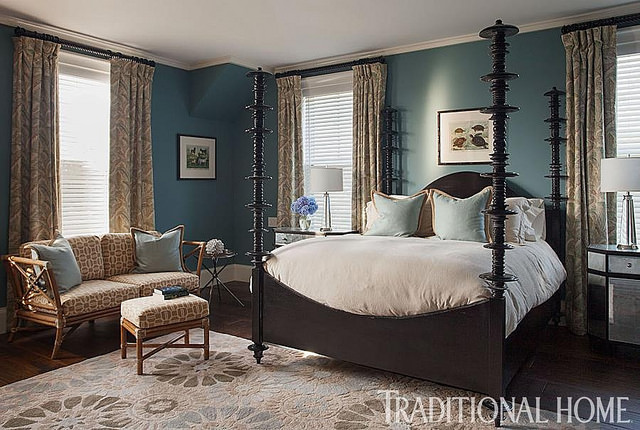 Room for Style: Decorating   Into the Blue