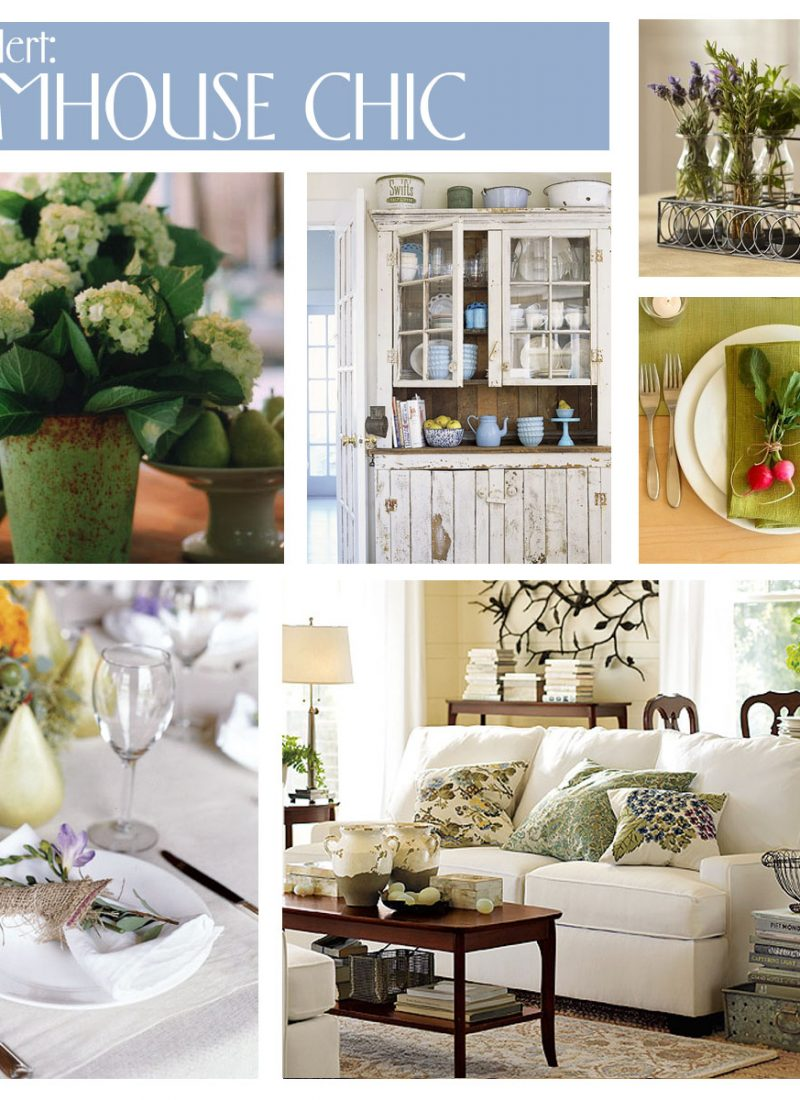 Room for Style: Decorating   Farmhouse Chic
