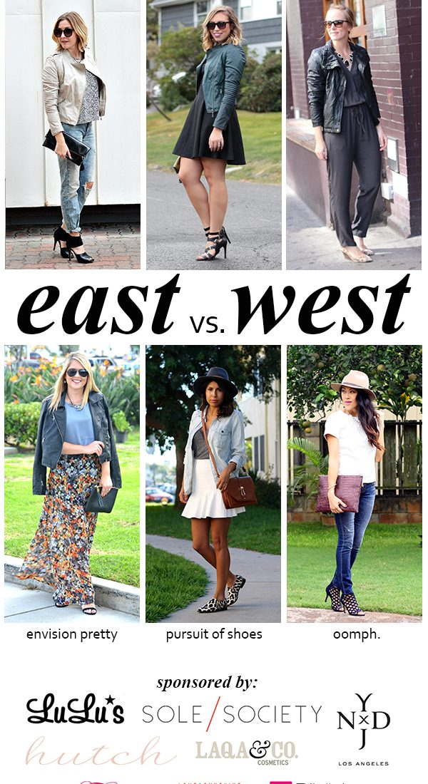 East vs. West Style: Leather