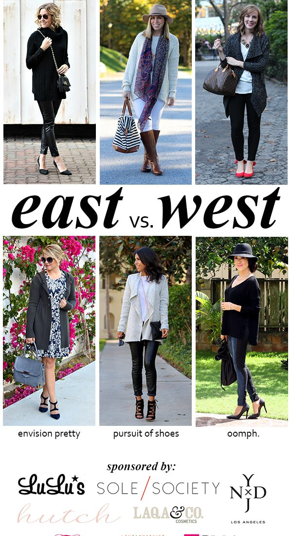 East vs. West Style: Oversized Sweaters