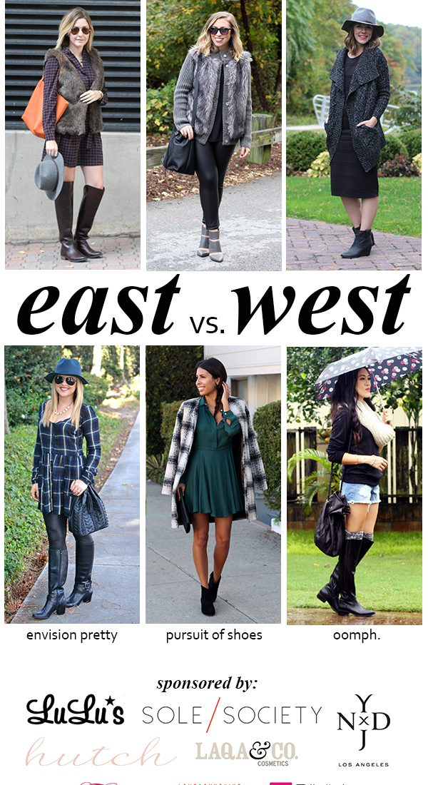 East vs. West Style: Boots