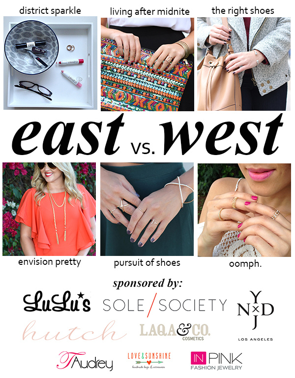 East vs. West Style: Fall Beauty