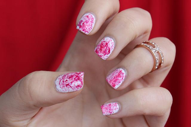 Halloween Nails | Splattered