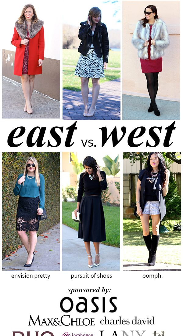 East vs. West Style: Holiday Hostess