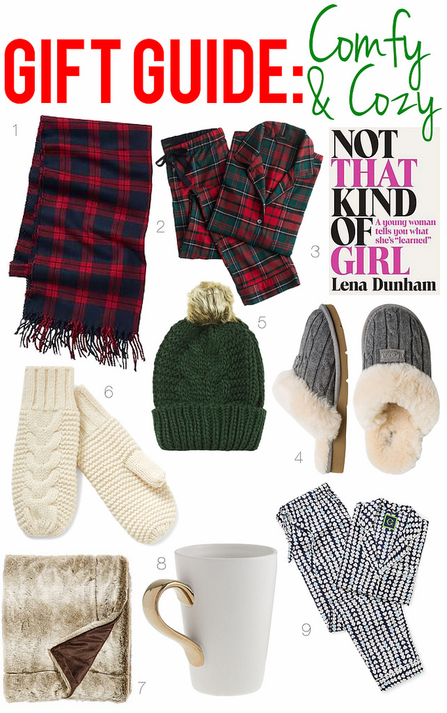 Gift Guide: Comfy & Cozy