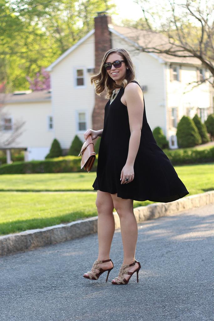 Little Black Trapeze Dress